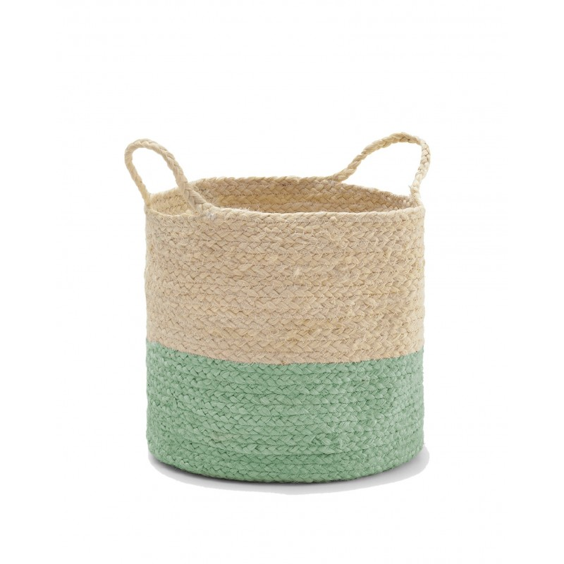 Green Yute Basket