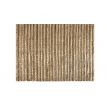 Grey and Beige Natural Rug