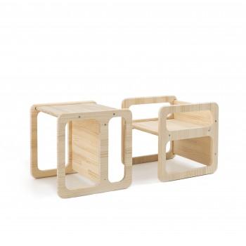 Cube Chair estilo Montessori (set2)
