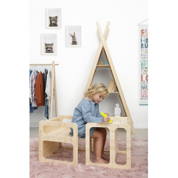 Cube Chair estilo Montessori (set2)