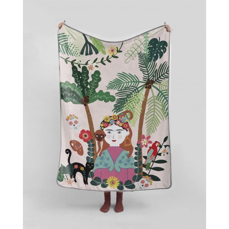 Manta 130x170 Frida Jungle