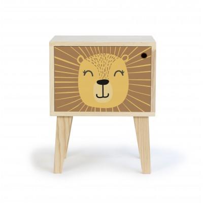 Bedside Table Lion
