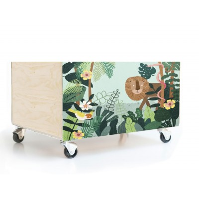 Cajon 50x23 Jungle Friends