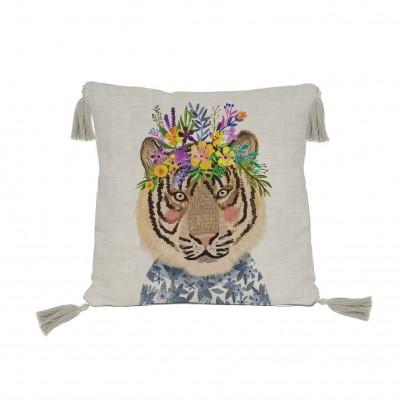 Cojín  Floral Tiger
