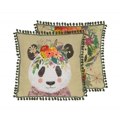 Cojín  Floral Panda