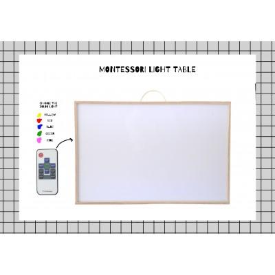 Caja de Luz estilo Montessori
