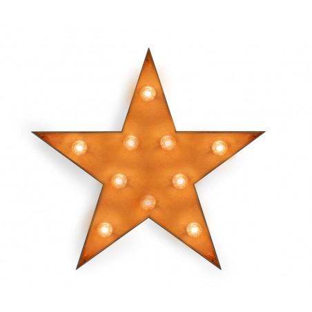 Estrella con Bombillas