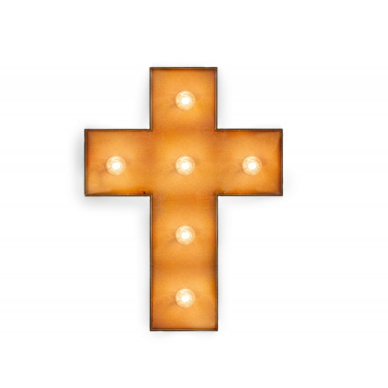 Cruz con Bombillas