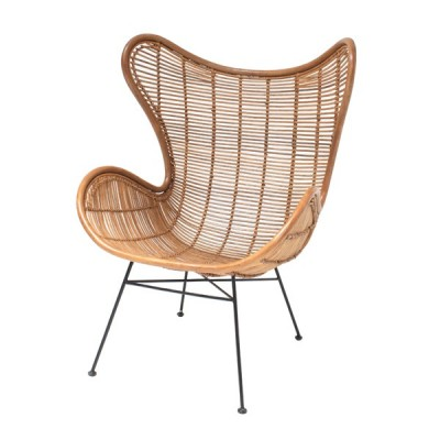 Silla Rattan Egg Chair