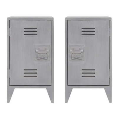 Mesita Bedside Locker (Set de 2)