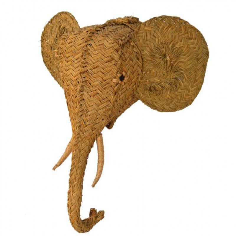 Cabeza Elefante Esparto
