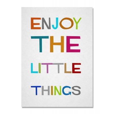 Lienzo Enjoy Little Things