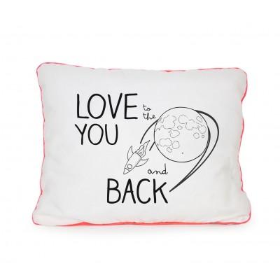 Cojín Love You Moon Back