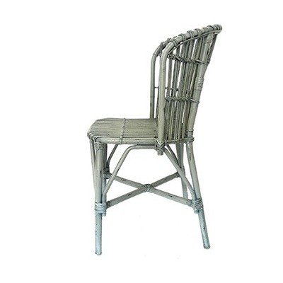 Silla Bamboo Grey Chair
