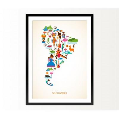 Cuadro South America
