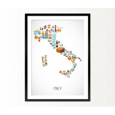 Cuadro Italy