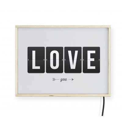 LightBox Love 40x30
