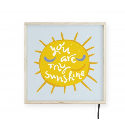 LightBox You Are Sunshine 30x30