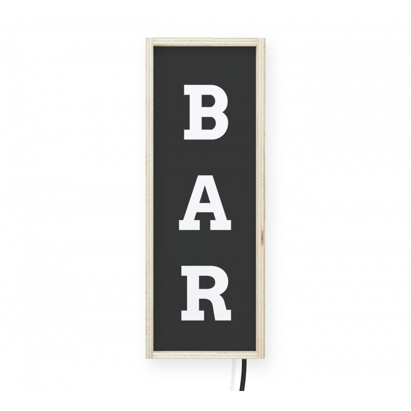 LightBox BAR Black
