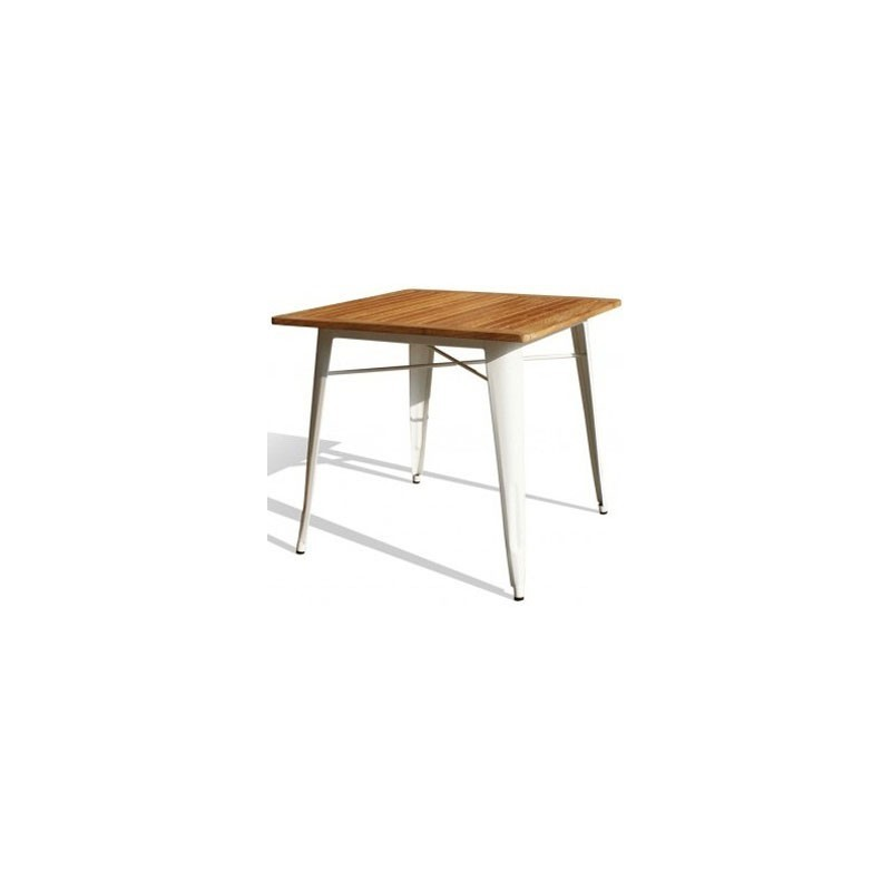 Tolix teka style table reallynicethings for Table style tolix